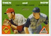 2003 Topps Heritage Then and Now #TN9 R.Roberts/R.Johnson
