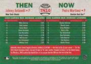 2003 Topps Heritage Then and Now #TN10 J.Antonelli/P.Martinez back image