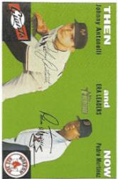 2003 Topps Heritage Then and Now #TN10 J.Antonelli/P.Martinez front image