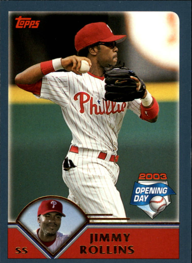 2003 Topps Opening Day #31 Jimmy Rollins