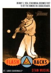 2003 Topps Heritage Flashbacks #F4 Stan Musial