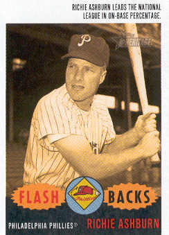 2003 Topps Heritage Flashbacks #F7 Richie Ashburn