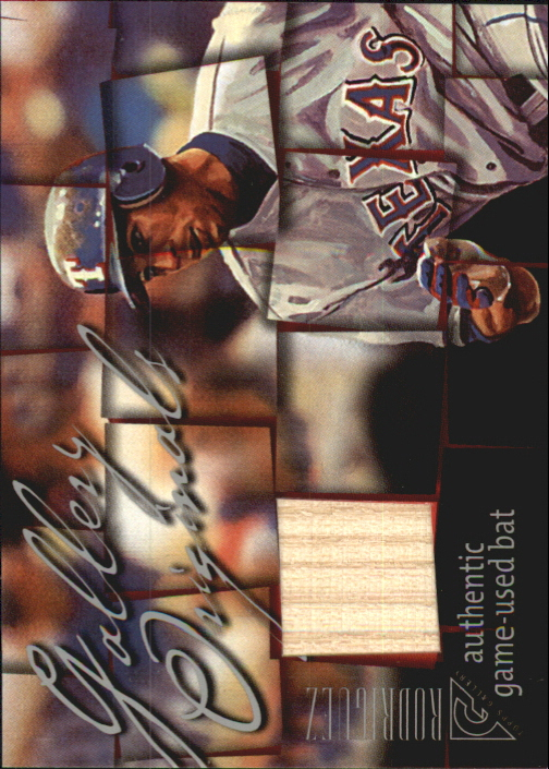 2003 Topps Gallery Originals Bat Relics #AR Alex Rodriguez C