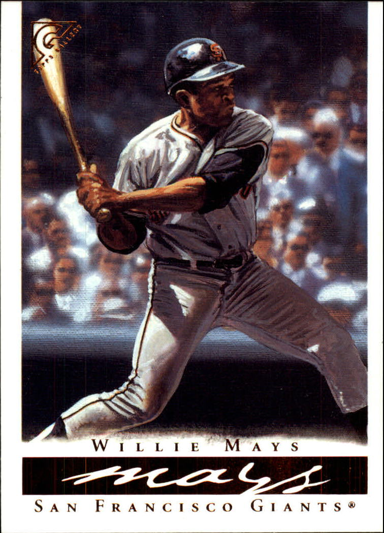 2003 Topps Gallery HOF #1 Willie Mays Bleachers