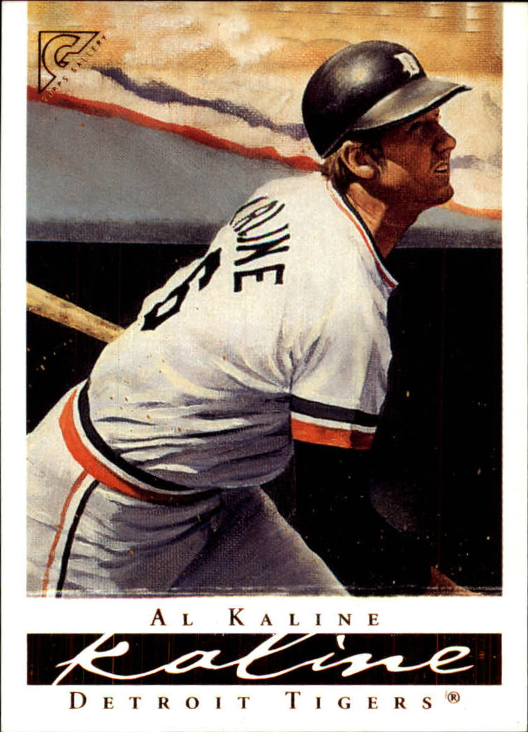 2003 Topps Gallery HOF #2 Al Kaline Stripes