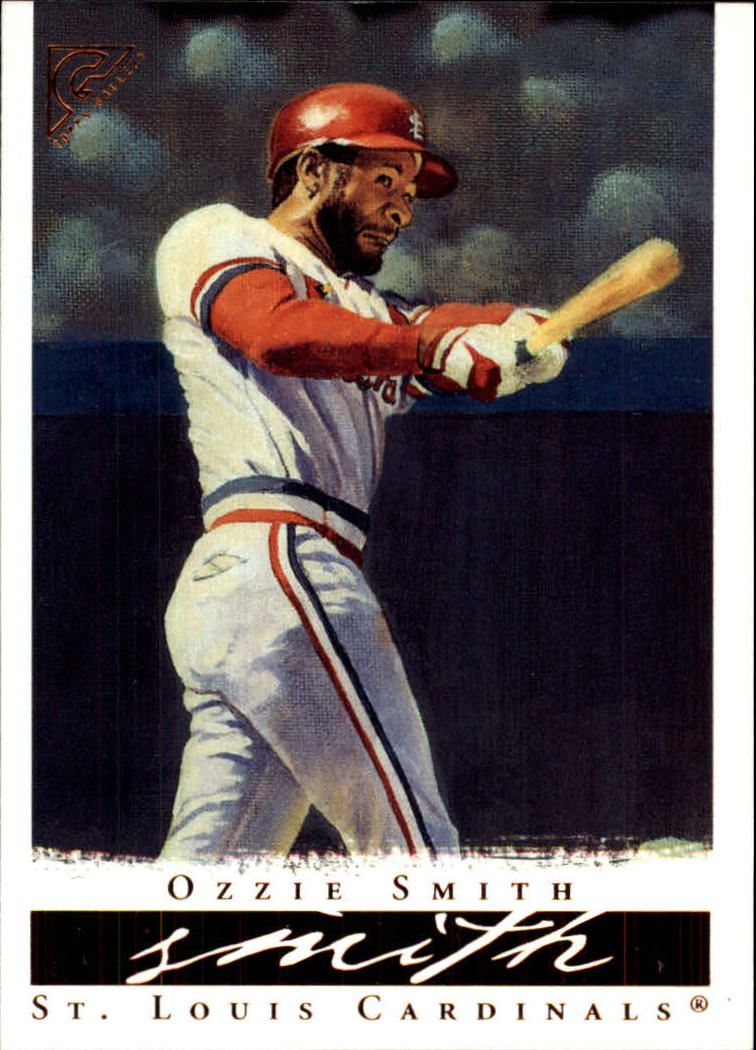 2003 Topps Gallery HOF #27 Ozzie Smith Red Sleeve