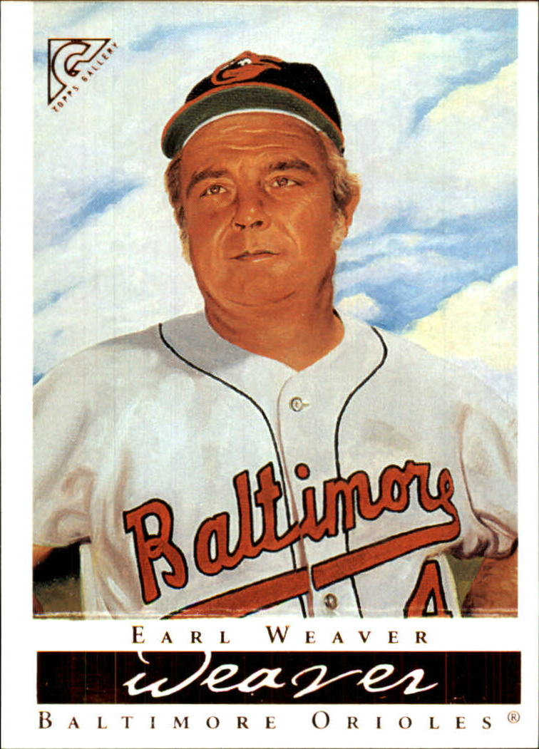 2003 Topps Gallery HOF #48 Earl Weaver MG Day