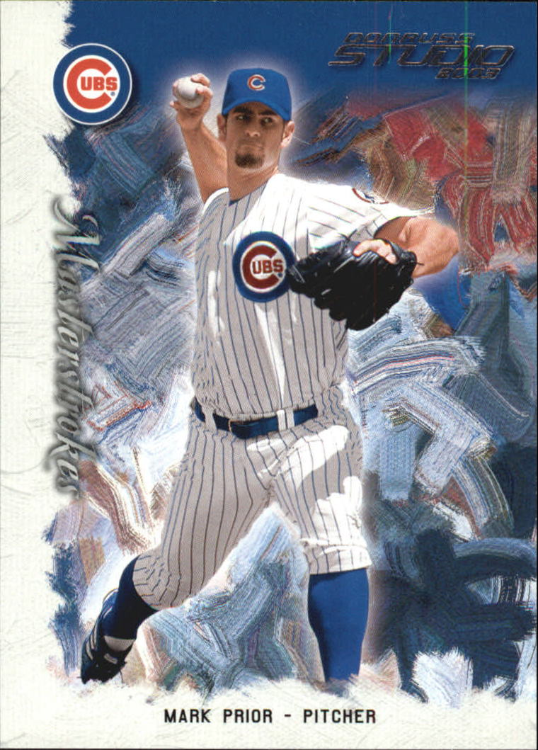 2003 Studio Masterstrokes #19 Mark Prior