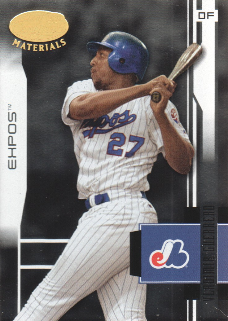 2003 Leaf Certified Materials #109 Vladimir Guerrero