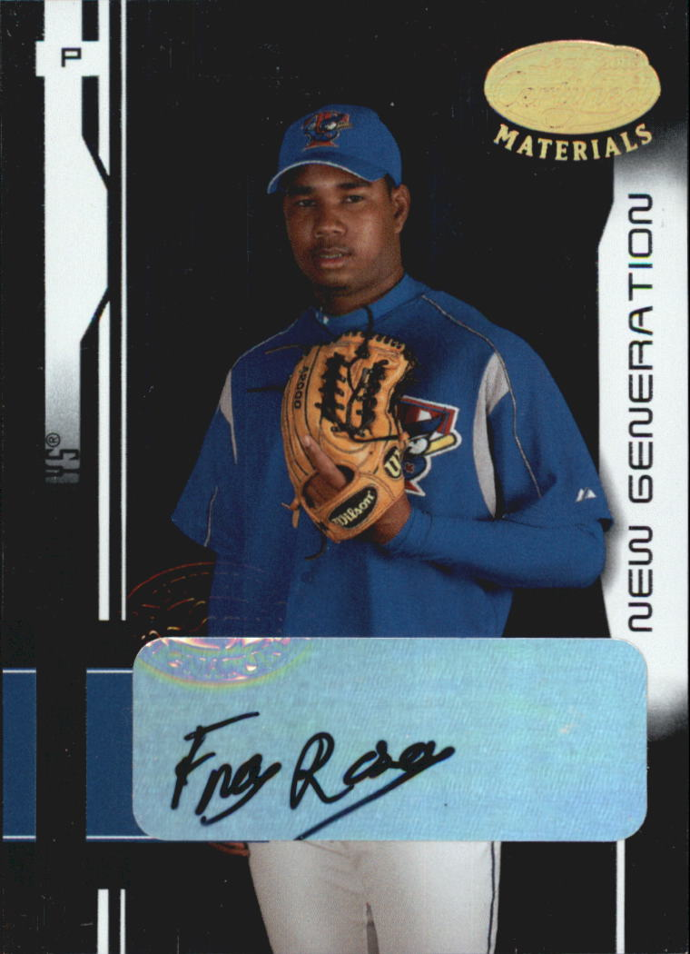 2003 Leaf Certified Materials #214 Franc Rosario NG AU RC