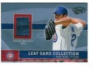2003 Leaf Game Collection #17 Mark Prior Shoe