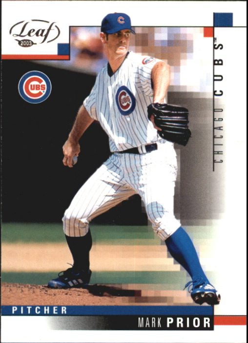 2003 Leaf #144 Mark Prior