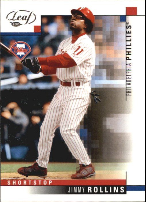 2003 Leaf #213 Jimmy Rollins