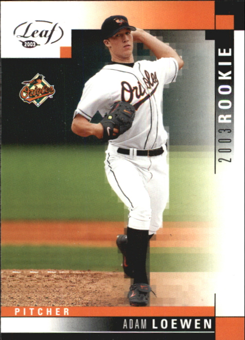 2003 Leaf #323 Adam Loewen ROO RC
