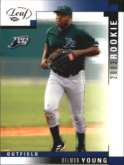 2003 Leaf #326 Delmon Young ROO RC