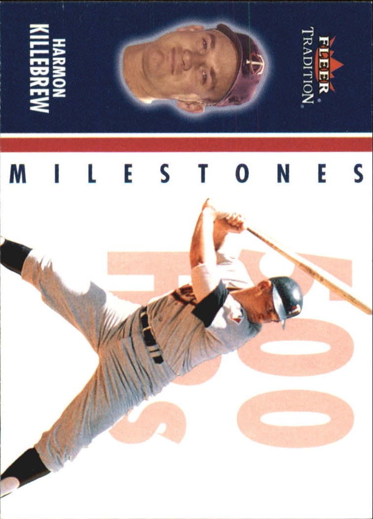 2003 Fleer Tradition Milestones #3 Harmon Killebrew
