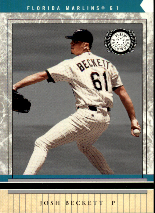 2003 Fleer Patchworks #60 Josh Beckett