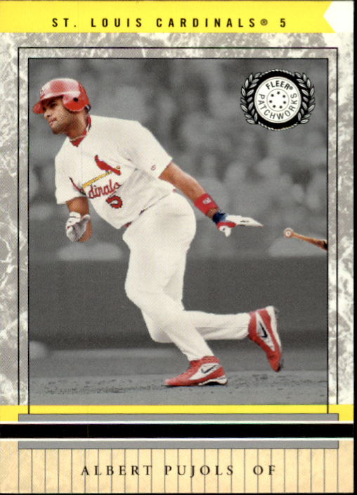2003 Fleer Patchworks #87 Albert Pujols