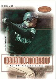 2003 Hot Prospects Cream of the Crop #3 Ichiro Suzuki front image