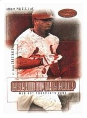 2003 Hot Prospects Cream of the Crop #12 Albert Pujols