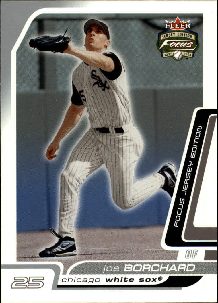 2003 Fleer Focus JE #19 Joe Borchard