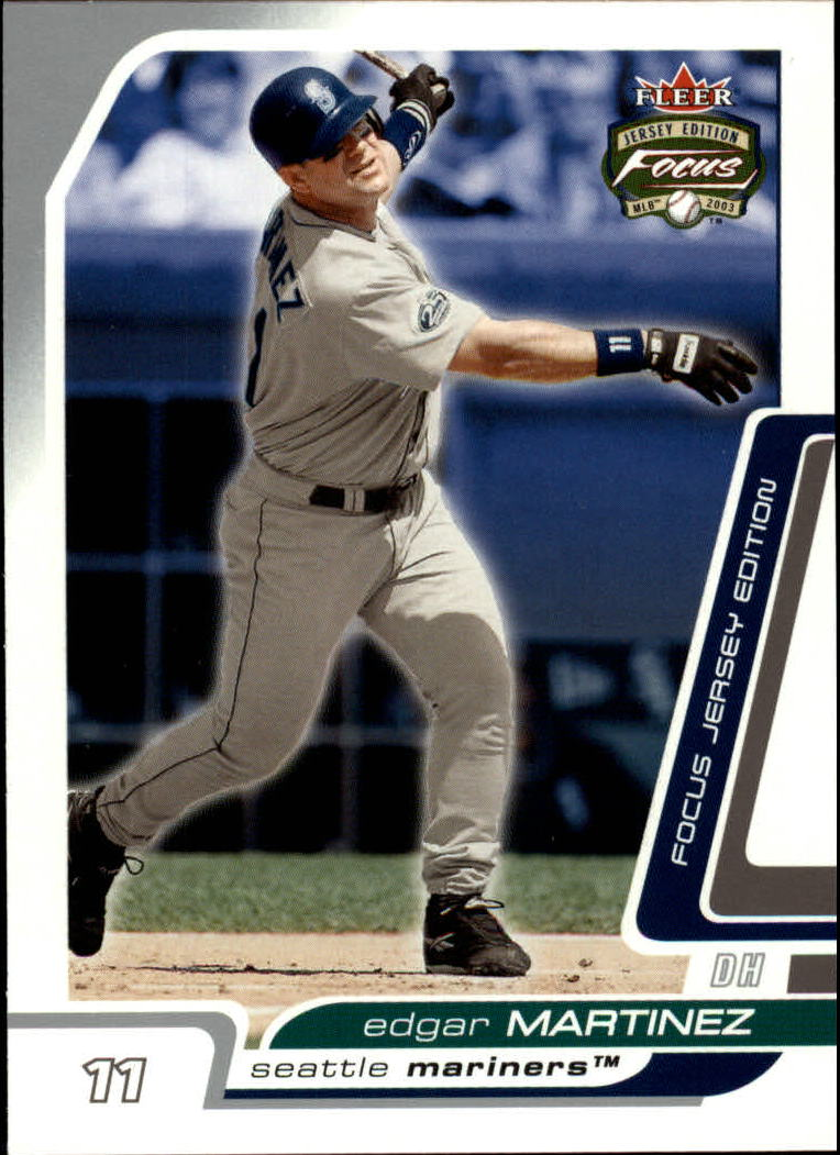 2003 Fleer Focus JE #38 Edgar Martinez