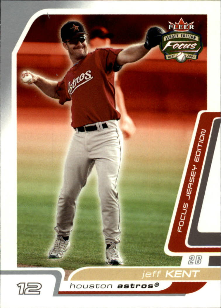 2003 Fleer Focus JE #45 Jeff Kent