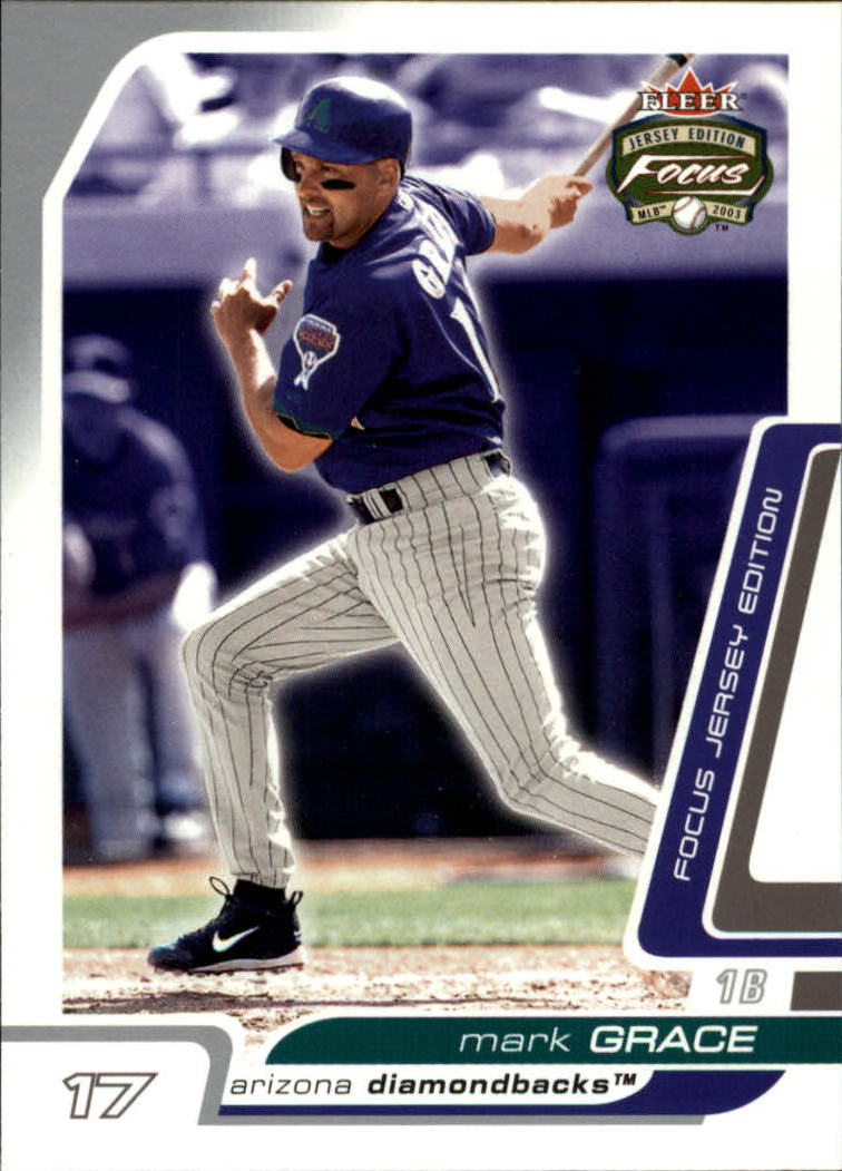 2003 Fleer Focus JE #68 Mark Grace