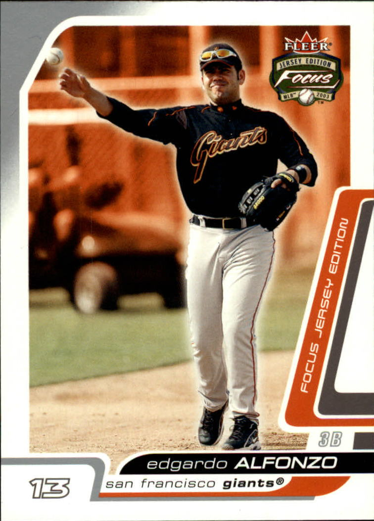 2003 Fleer Focus JE #72 Edgardo Alfonzo