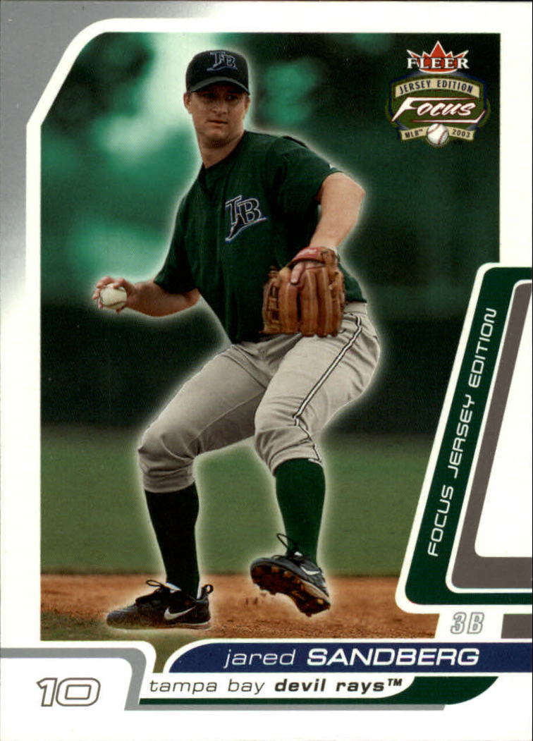 2003 Fleer Focus JE #85 Jared Sandberg