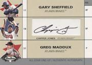 2003 Fleer Box Score All-Star Line Up Autographs #CJ Chipper Jones/170
