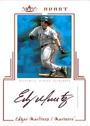 2003 Fleer Avant Autograph Copper #EM Edgar Martinez/150