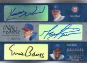 2003 Donruss Signature INKredible Three #3 Kerry Wood/Mark Prior/Ernie Banks