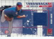 2003 Donruss Elite Throwback Threads #74 Kerry Wood/Mark Prior