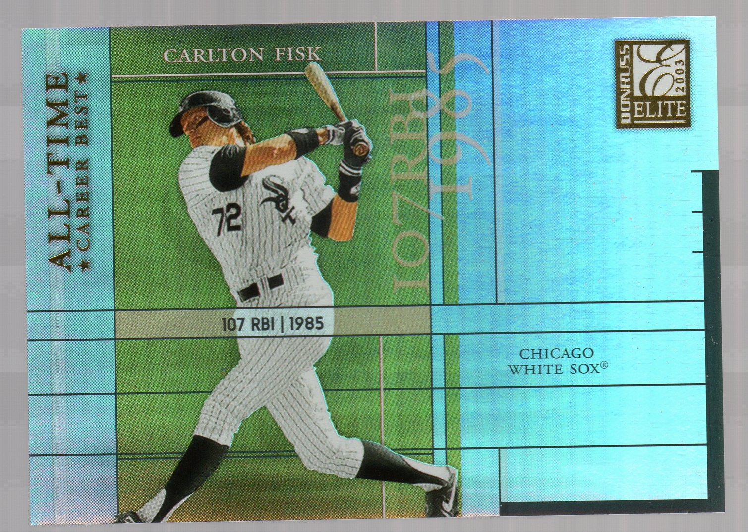 2003 Donruss Elite All-Time Career Best #21 Carlton Fisk