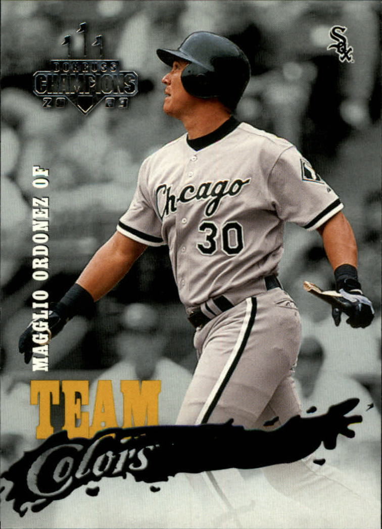 2003 Donruss Champions Team Colors #4 Magglio Ordonez