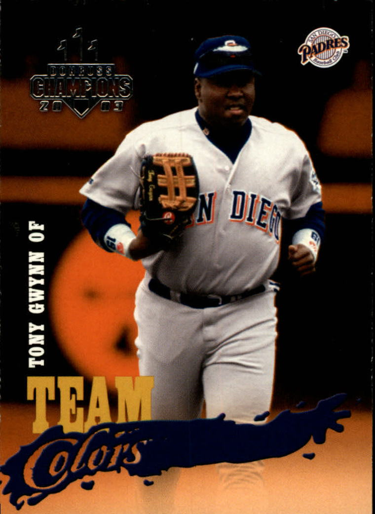 2003 Donruss Champions Team Colors #8 Tony Gwynn