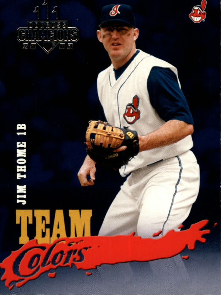 2003 Donruss Champions Team Colors #24 Jim Thome