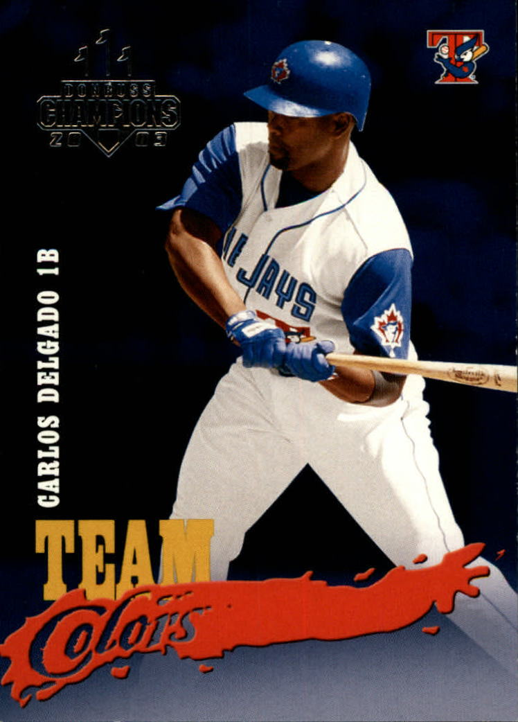 2003 Donruss Champions Team Colors #25 Carlos Delgado