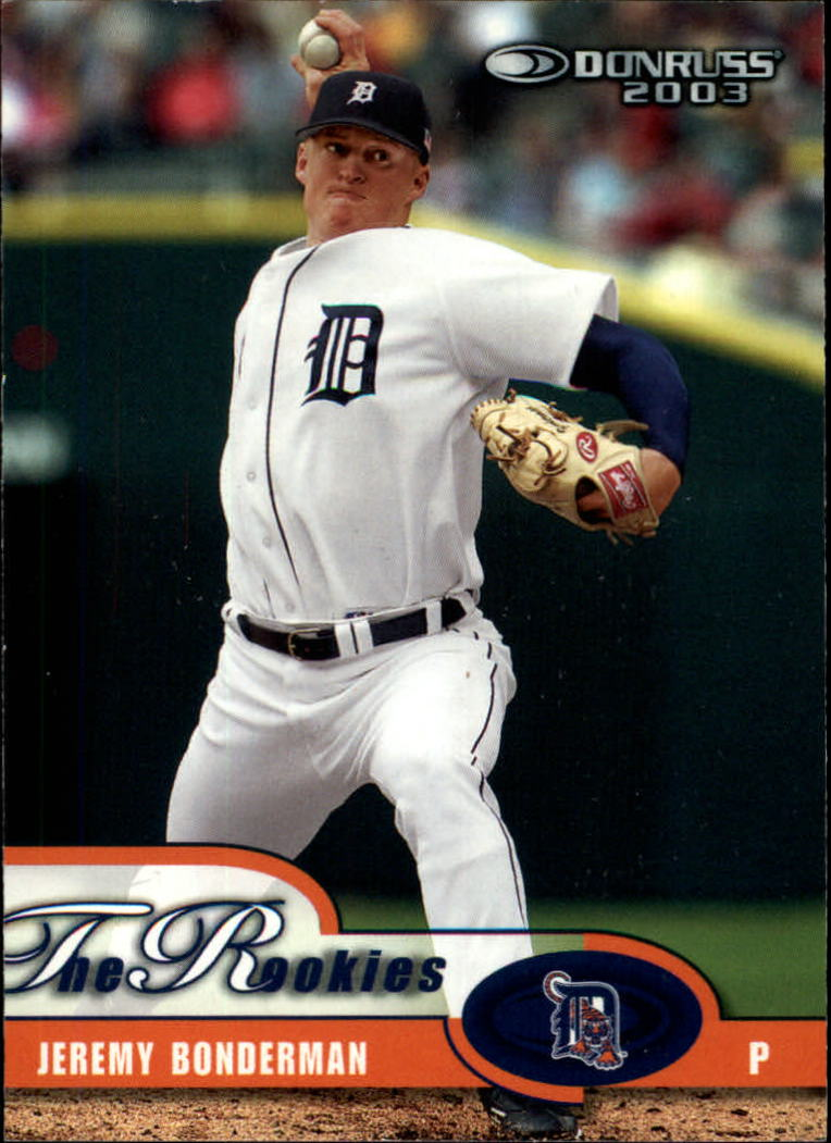 2003 Donruss Rookies #1 Jeremy Bonderman RC