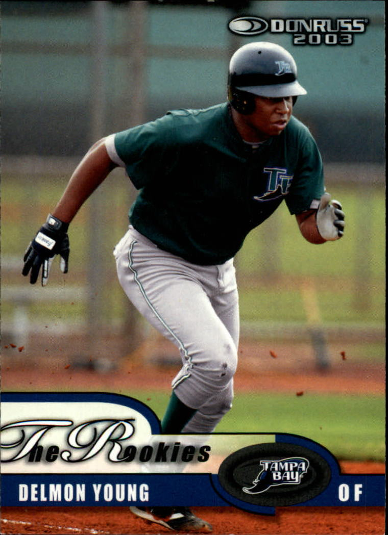 2003 Donruss Rookies #55 Delmon Young RC