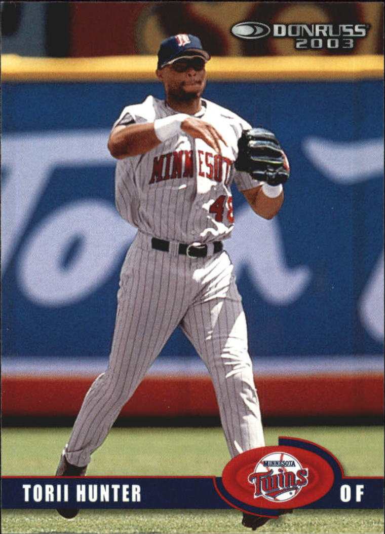 2003 Donruss #143 Torii Hunter