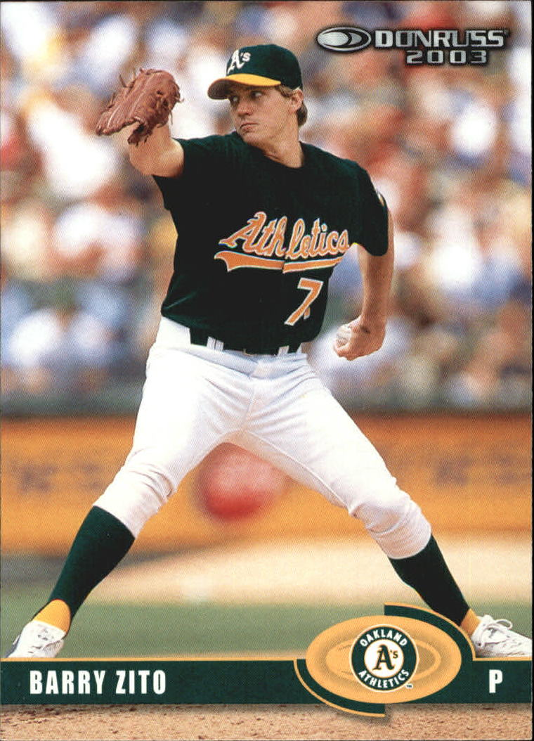 2003 Donruss #169 Barry Zito