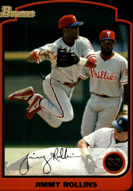 2003 Bowman #72 Jimmy Rollins