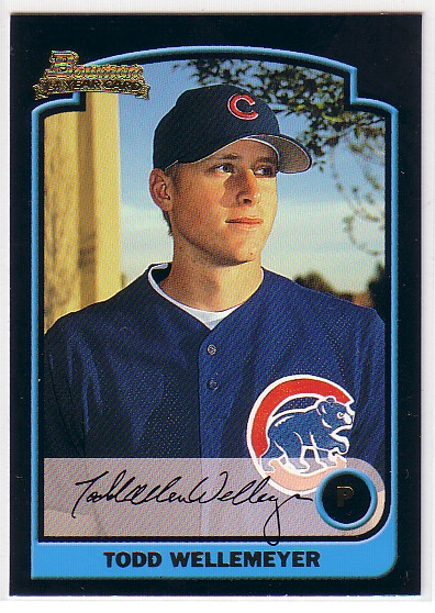 2003 Bowman #322 Todd Wellemeyer RC