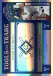 2004 Absolute Memorabilia Tools of the Trade Blue Spectrum #58 Ivan Rodriguez Marlins