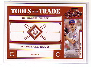 2004 Absolute Memorabilia Tools of the Trade Red #91 Mark Prior A