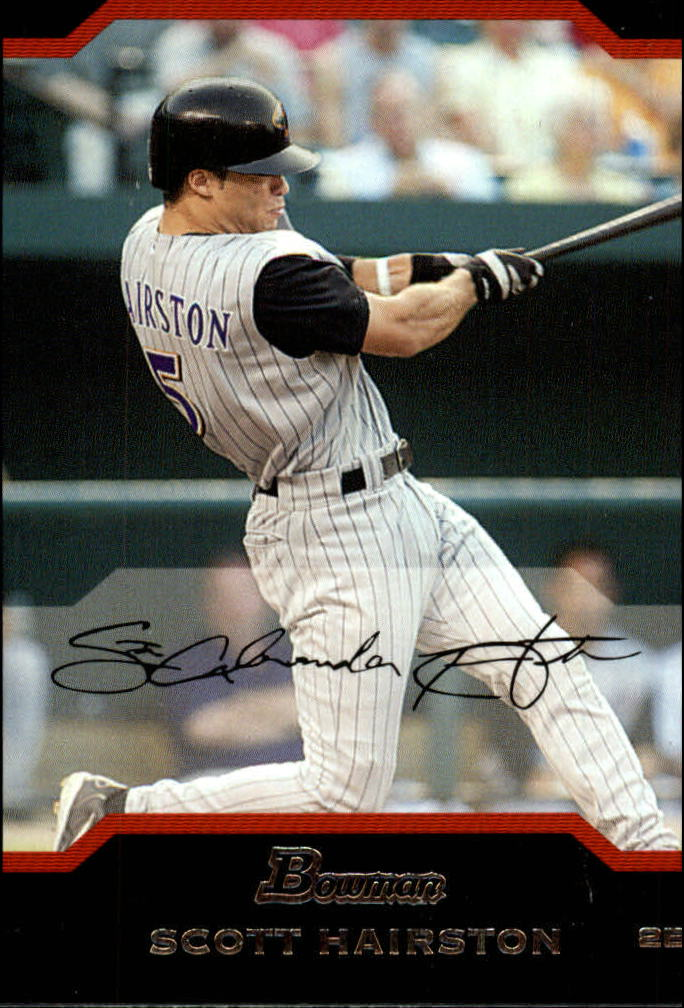 2004 Bowman Draft #7 Scott Hairston