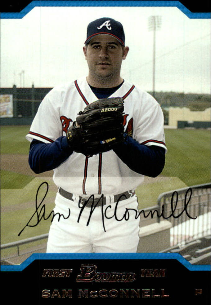 2004 Bowman Draft #28 Sam McConnell RC