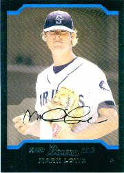 2004 Bowman Draft #57 Mark Lowe RC